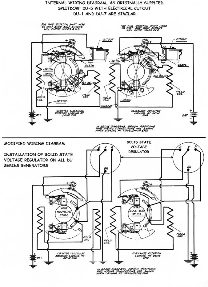 DU Instructions: model a wiring diagram with 6 volt generator at sanghur.org